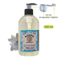 Gel White Musk, baño y ducha-Cosmética natural Ágave-500 ml