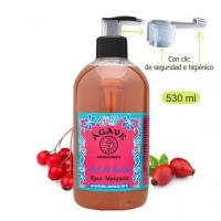 Gel de Rosa mosqueta, baño y ducha-Cosmética natural Ágave-500 ml