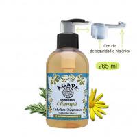 Champú cabello Normal-Cosmética natural Ágave-250 ml