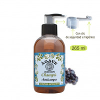 Champú Anticaspa-Cosmética natural Ágave-250 ml