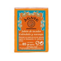 Jabón-de-tocador-Naranja-y-calendula-Cosmética-natural-Ágave