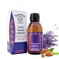 Lavanda. Aceite para masaje, Cosmética natural, Ágave