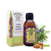 Anticelulitico. Aceite para masaje, Cosmética natural, Ágave
