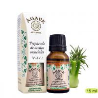 Drenaje linfatico, potencidor en tratamientos-AgaveAdelgazante Mezcla aceites esenciales Cosmetica Agave