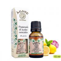 Piel Grasa Mezcla aceites esenciales Cosmetica Agave