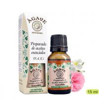 Piel Inflamada o Sensible Mezcla aceites esenciales Cosmetica Agave