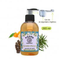 Keratín champú-Cosmética natural Ágave-250 ml