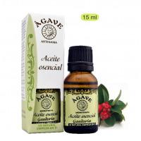 Gaulteria (Wintergreen). Aceite esencial Cosmética natural, Ágave
