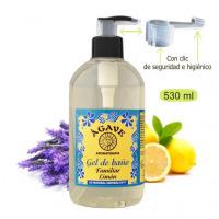 Gel de Limón, baño y ducha-Cosmética natural Ágave-500 ml