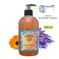 Gel infantil,baño y ducha-Cosmética natural Ágave-500 ml